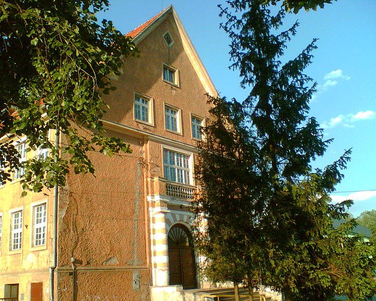 budynki w Wielbarku